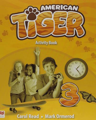 American Tiger Activity Book 3