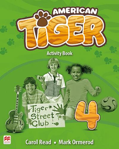 American Tiger Activity Book 4
