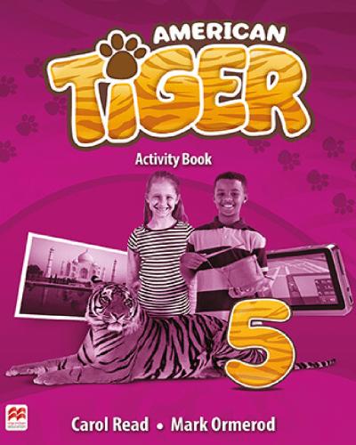 American Tiger Activity Book 5