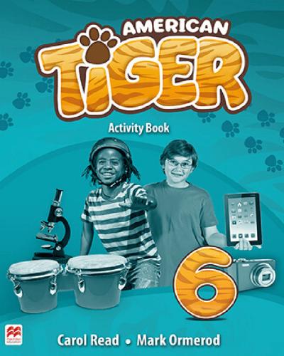 American Tiger Activity Book 6