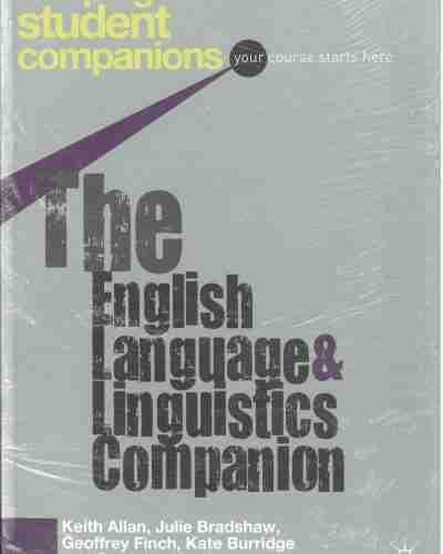 The English Lenguage  & Linguistcs Companion