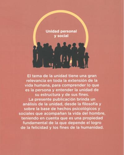 Unidad personal y social
