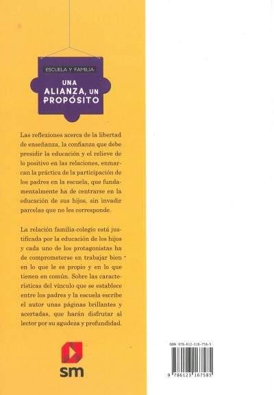 Descripcion Escuela y Familia: una alianza, un proposito