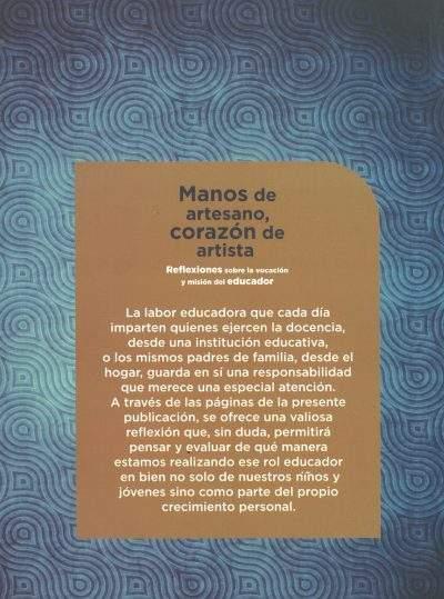 Descripción Manos de Artesano, córazon de artista